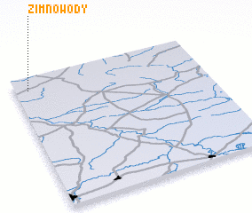 3d view of Zimnowody