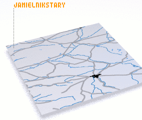 3d view of Jamielnik Stary