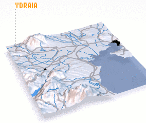 3d view of Ydraía
