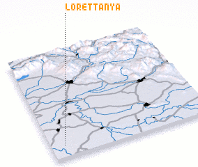 3d view of Lóréttanya