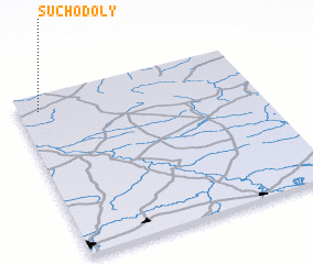 3d view of Suchodoły