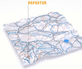 3d view of Pefkotón