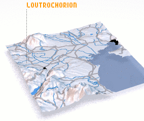 3d view of Loutrochórion