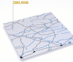 3d view of Zaklików