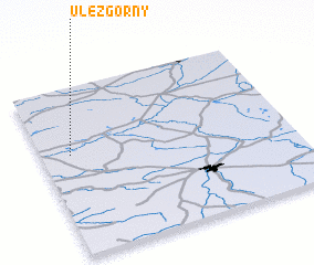 3d view of Ułęż Górny
