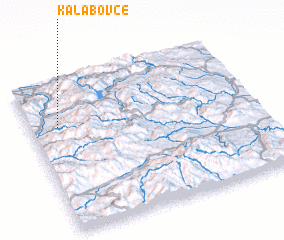 3d view of Kalabovce
