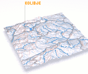 3d view of Kolibje