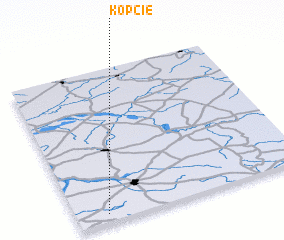 3d view of Kopcie