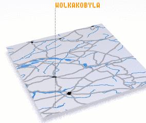 3d view of Wólka Kobyla