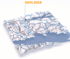 3d view of Nikolaíika