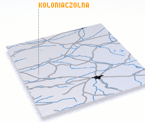 3d view of Kolonia Czołna