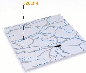3d view of Czołna