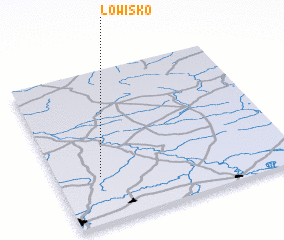 3d view of Łowisko