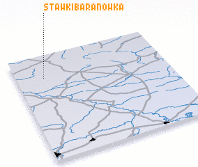 3d view of Stawki Baranówka
