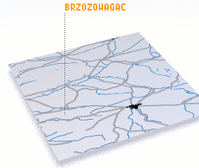 3d view of Brzozowa Gać