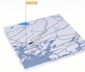Raisio Finland map nonanet
