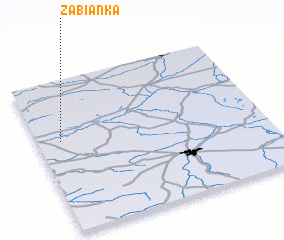 3d view of Żabianka