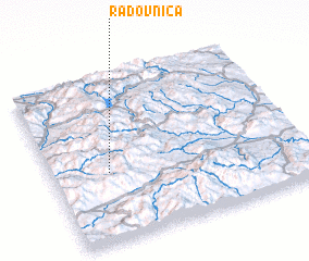 3d view of Radovnica