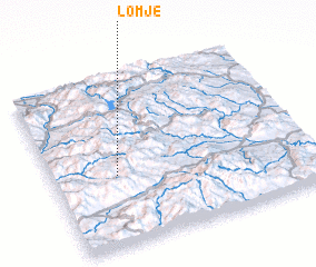 3d view of Lomje