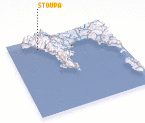 3d view of Stoúpa