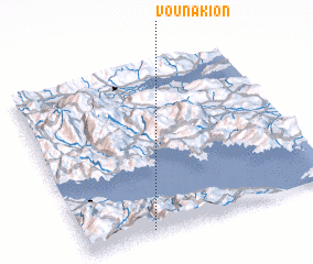 3d view of Vounákion