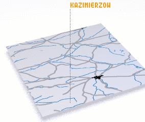 3d view of Kazimierzów