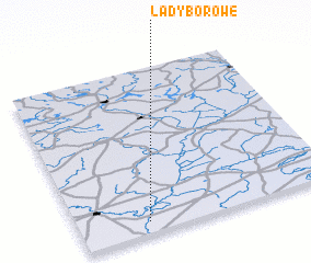 3d view of Łady Borowe
