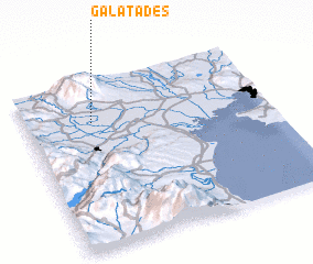 3d view of Galatádes
