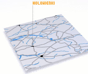 3d view of Hołowienki