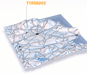 3d view of Týrnavos