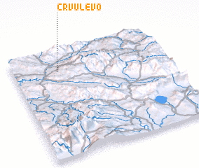 3d view of Crvulevo