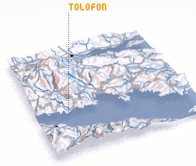 3d view of Tolofón