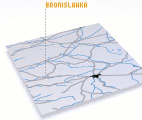 3d view of Bronisławka