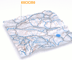 3d view of Kučičino