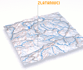 3d view of Zlatanovci