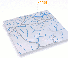 3d view of Kande