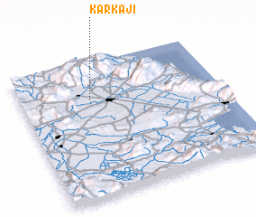 3d view of Karkají