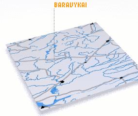 3d view of Baravykai