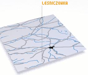 3d view of Leśniczówka