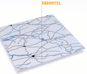 3d view of Radomyśl