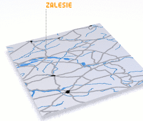 3d view of Zalesie