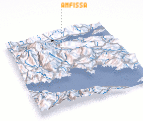 3d view of Ámfissa