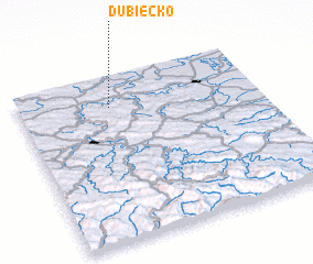 3d view of Dubiecko