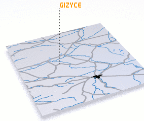3d view of Giżyce