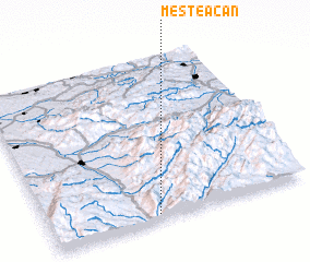 3d view of Mesteacăn