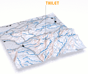 3d view of Thileţ