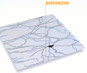 3d view of Borkowizna