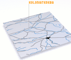3d view of Kolonia Tereba