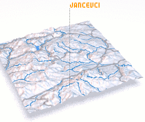 3d view of Jančevci