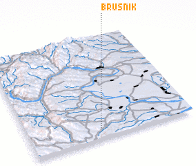 3d view of Brusnik